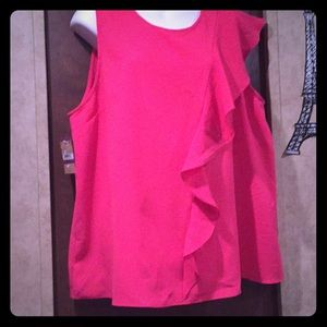Buy One get 1 Rachel Roy blouse ruffle color pink